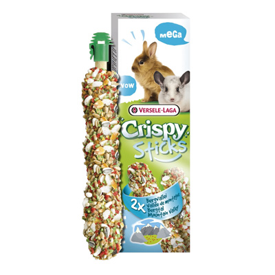 Versele Laga Mega Sticks Rabbits-Chinchillas Mountain valley - 2 х 70гр - 462064