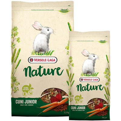 Versele Laga Nature Cuni Junior - за малки зайчета - 461407,461408