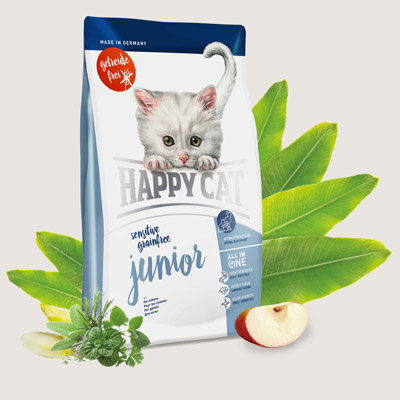 Happy Cat Sensitive Grain Free Junior  - 70271