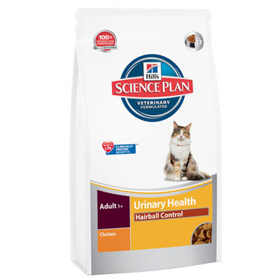 Hills SP Feline Adult Urinary & Hairball Control Chicken - 10227U