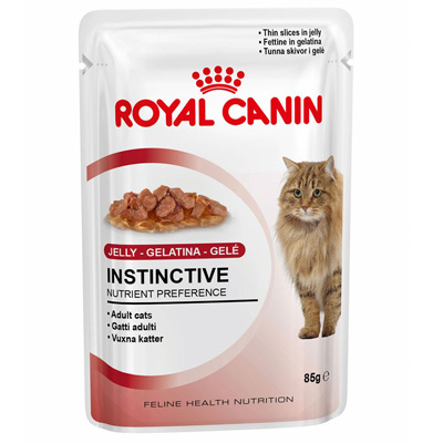 Royal Canin Instinctive in Jelly - 85 гр пауч в желе - AFJ01