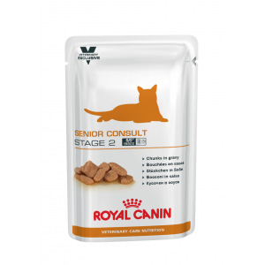 Royal Canin Senior Consult Stage 2 Cat - 100 гр пауч - ABB81