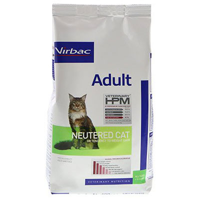 Virbac HPM Adult Neutered Cat -
