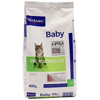 Virbac HPM Baby Pre Neutered Cat -