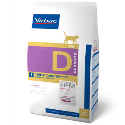 Virbac Cat Dermatology Support -