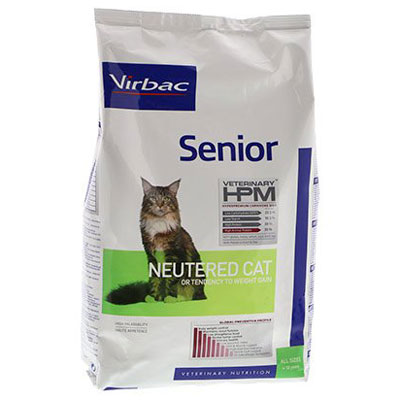 Virbac HPM Senior Neutered Cat -
