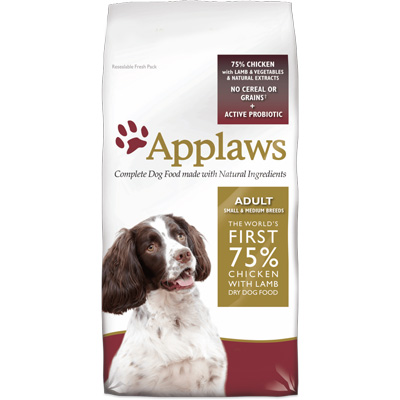 Applaws Dog Adult Small Medium Breeds Chicken and Lamb - DD4520C
