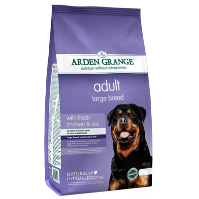 Arden Grange Adult Large Breed - chicken & rice -