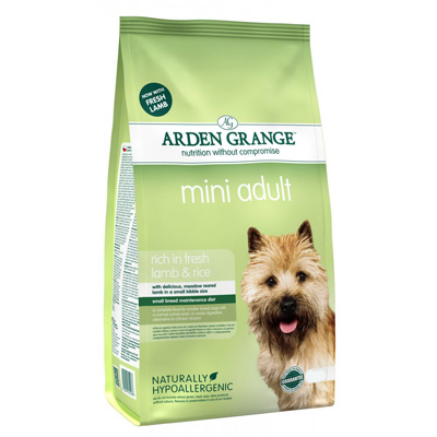 Arden Grange Adult Mini - Lamb & rice -