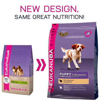Eukanuba Puppy & Junior All Breed Lamb & Rice -