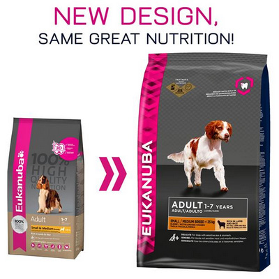 Eukanuba Adult Small Medium Breed Lamb & Rice