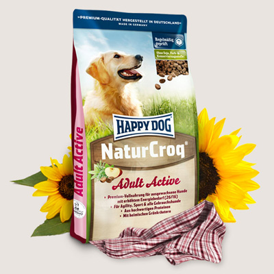 Happy Dog  NaturCroq Active - 15 кг - 2553
