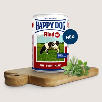 Happy Dog  Rind Pur - Говеждо  - 2723635