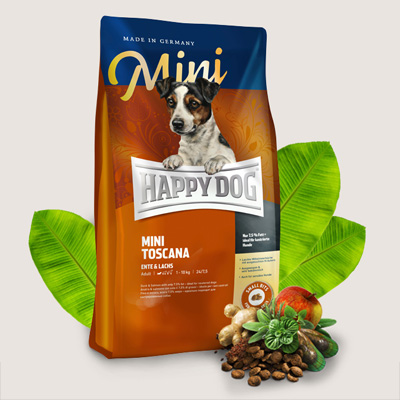 Happy Dog Supreme Mini Toscana за дребни породи - 60325, 60326