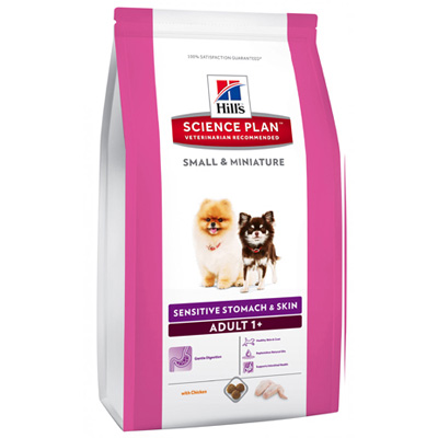 Hills SP Canine Adult Small & Miniature Sensitive Stomach & Skin - 10516