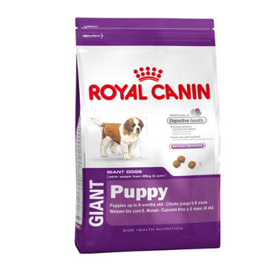 Royal Canin Giant Puppy - 118840 118860 159640