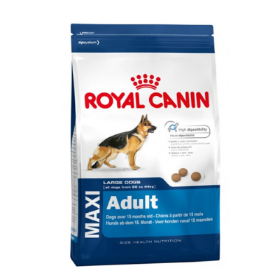 Royal Canin Maxi Adult - 114780 156600 131300