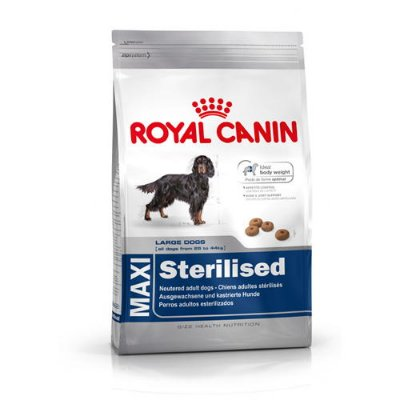 Royal Canin Maxi Sterilised Adult - 167730 167740